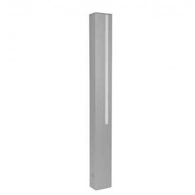 Traddel - Stick - Illuminazione per esterni - Stick 1 - Paletto led doppia emissione 654mm - Grigio zirconio -  - Bianco caldo - 3000 K - Diffusa