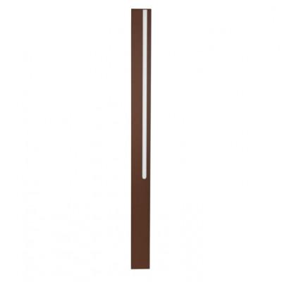 Traddel - Stick - Illuminazione per esterni - Stick 1 - Paletto led doppia emissione 954mm - Corten -  - Bianco caldo - 3000 K - Diffusa