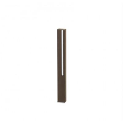 Traddel - Stick - Illuminazione per esterni - Stick 1 - Paletto led emissione singola 654mm - Corten -  - Bianco caldo - 3000 K - Diffusa