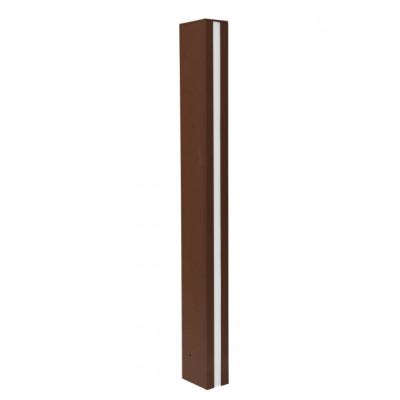 Traddel - Stick - Illuminazione per esterni - Stick 2 - Paletto illuminazione esterni 612mm doppia emissione - Corten -  - Bianco caldo - 3000 K - Diffusa