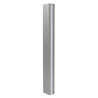 Traddel - Stick - Illuminazione per esterni - Stick 2 - Paletto illuminazione esterni 612mm doppia emissione - Grigio zirconio -  - Bianco caldo - 3000 K - Diffusa