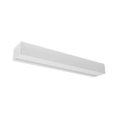 Traddel - Stick - Illuminazione per esterni - Stick - Applique esterni 412mm - Bianco goffrato -  - Bianco caldo - 3000 K - Diffusa