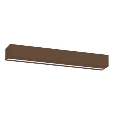 Traddel - Stick - Illuminazione per esterni - Stick - Applique esterni 412mm - Corten -  - Bianco caldo - 3000 K - Diffusa