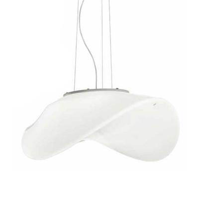 Vistosi - Balance - Balance SP - Lampada a sospensione S - Bianco glossy - LS-VI-SPBALANBCNI