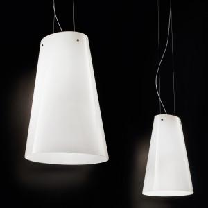 Vistosi -  - Cleo SP LED - Lampadario di design in vetro