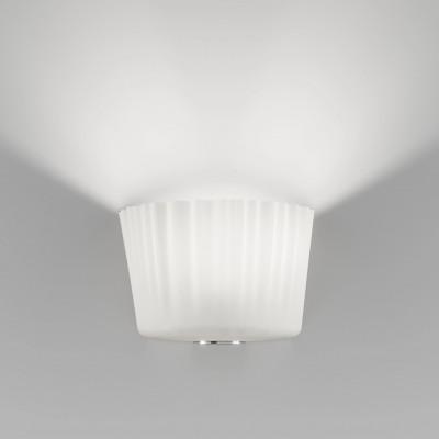 Vistosi - Cloth - Cloth AP L - Applique - Bianco satinato - LS-VI-APCLOTHGBCCR