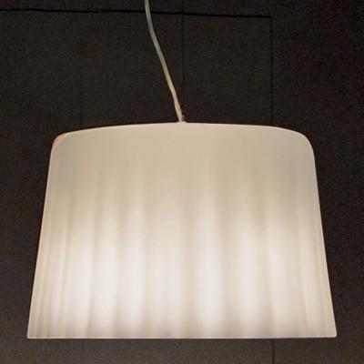 Vistosi - Cloth - Cloth SPG - Lampada a sospensione L - Bianco satinato - LS-VI-SPCLOTHGBCCR