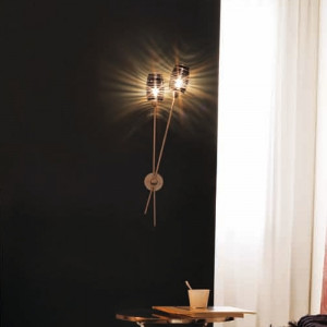 Vistosi - Damasco - Damasco AP - Lampada applique 2 luci
