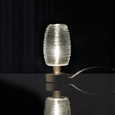 Vistosi - Damasco - Damasco LT - Lampada da tavolo P - Cristallo - LS-VI-LTDAMASPCRNI