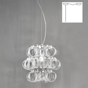Vistosi - Ecos - Ecos SP 35 D1 - Lampadario a una luce con attacco decentrato