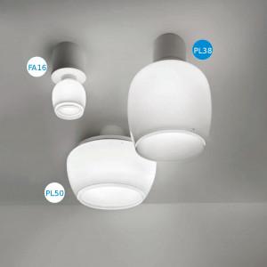 Vistosi - Implode - Implode PL38 - Plafoniera soffitto moderna