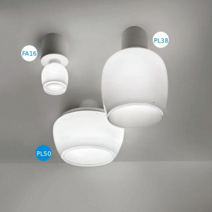 Vistosi - Implode - Implode PL50 - Plafoniera soffitto