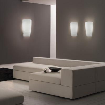 Vistosi - Mumba - Mumba AP - Lampada applique S - Bianco glossy - LS-VI-APMUMBAPBCNI