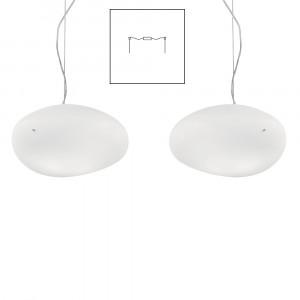 Vistosi - Neochic - Neochic SP S D2 - Lampadario a due luci con attacco decentrato