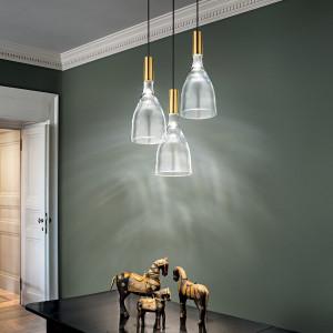 Vistosi - Retrò - Scintilla SP LED - Lampadario moderno