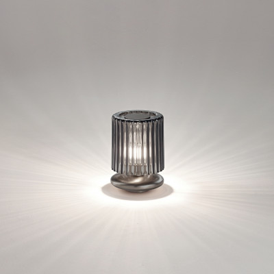 Vistosi - Retrò - Tread TL LED - Abat-jour di design - Fumè/Bronzo - LS-VI-LTTREADFUBR