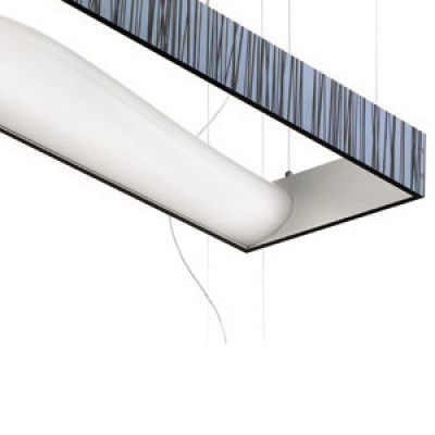 Vistosi - Tablò - Tablò LT2A - Lampada da tavolo moderna - Azzurro/Marrone - LS-VI-LTTABL2ABCMB