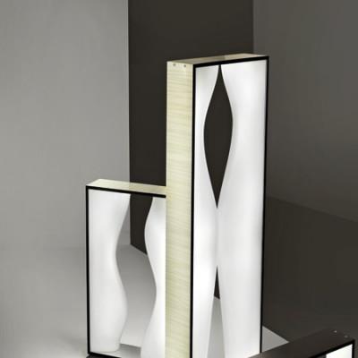 Vistosi - Tablò - Tablò LT2S - Lampada di design da tavolo - Bianco - LS-VI-LTTABL2SBCBC
