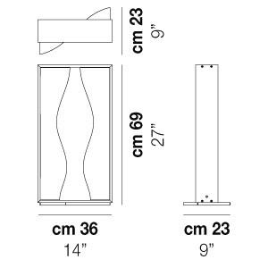 Vistosi - Tablò - Tablò LT2S - Lampada di design da tavolo