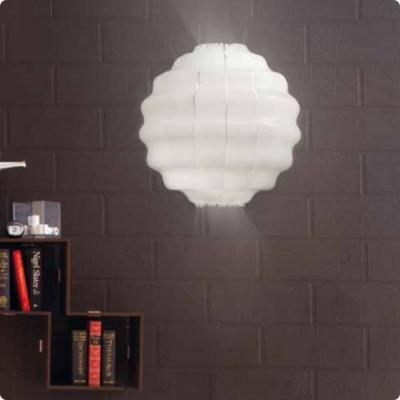 Vistosi - Tahoma Round - Tahoma Round PL - Lampada a soffitto/parete - Bianco glossy - LS-VI-PLTAHOROBCBC